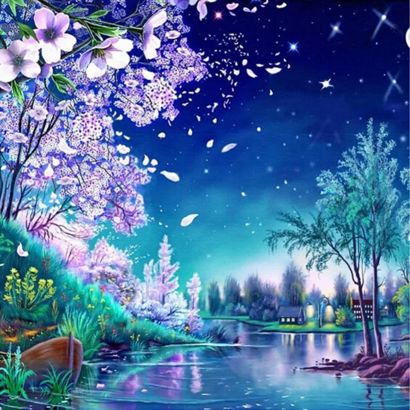 Картинки сказочная ночь, картинки картинки тольятти