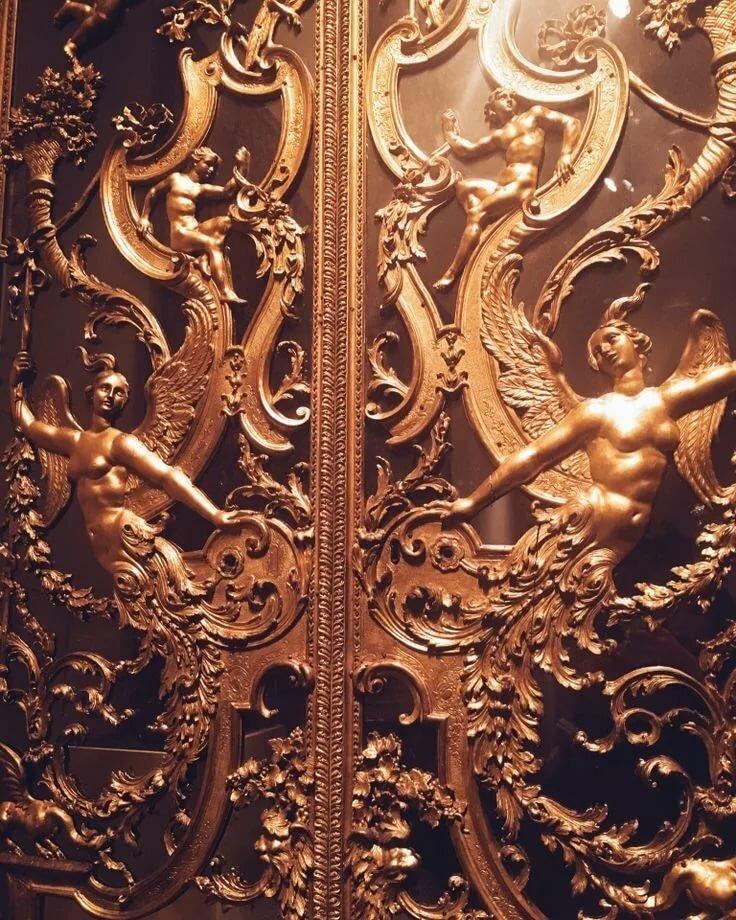 Золотые картинки для эстетики