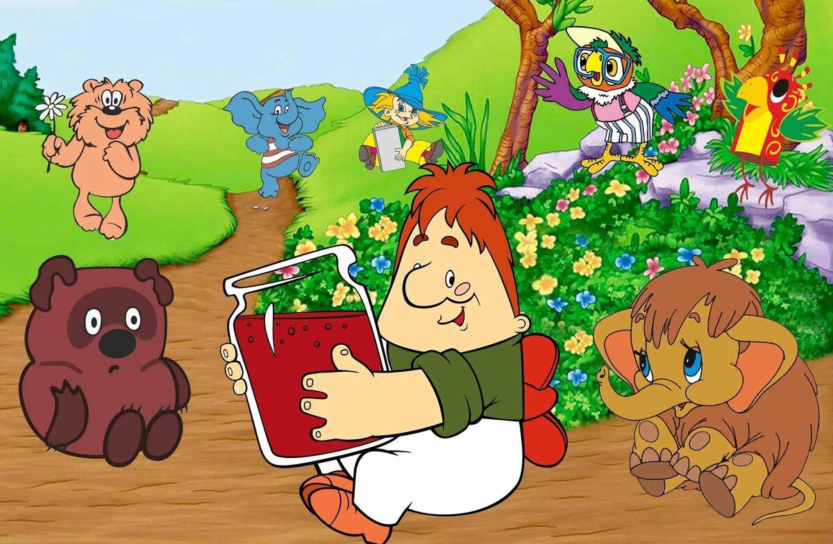 Картинки с персонажами мультфильмов, любимой девушке любви