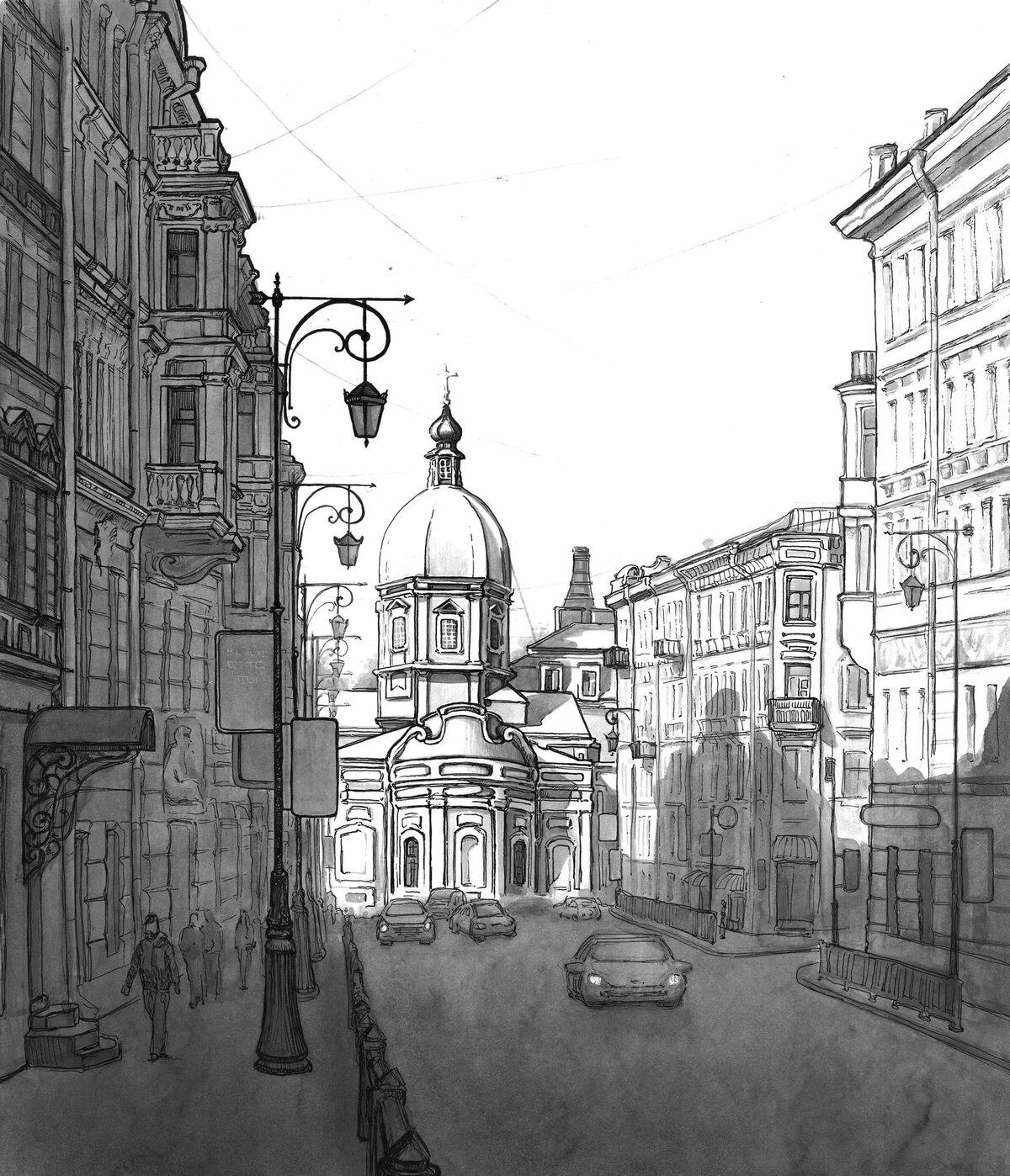 пишет, картинки санкт-петербурга хорошего качества карандашом территории