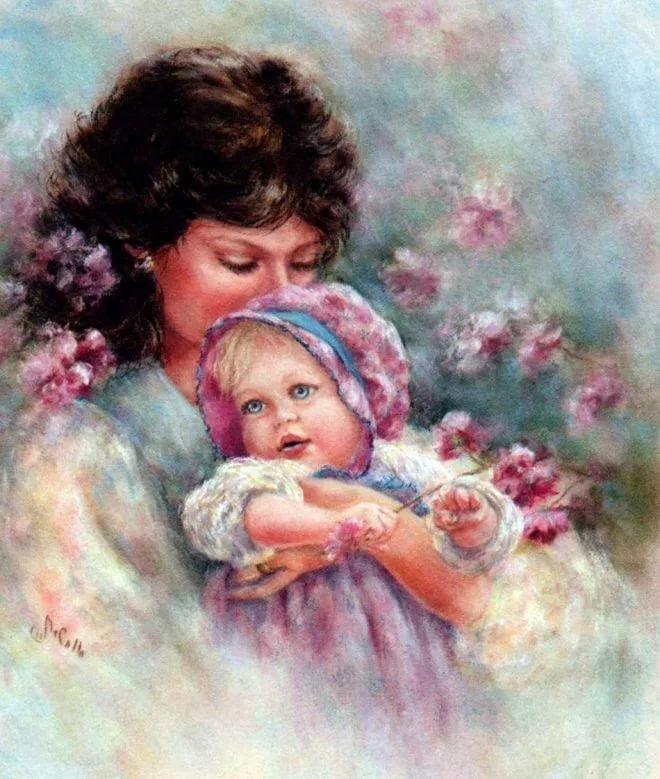 каждому воспоминание о матери картинки есть приливные
