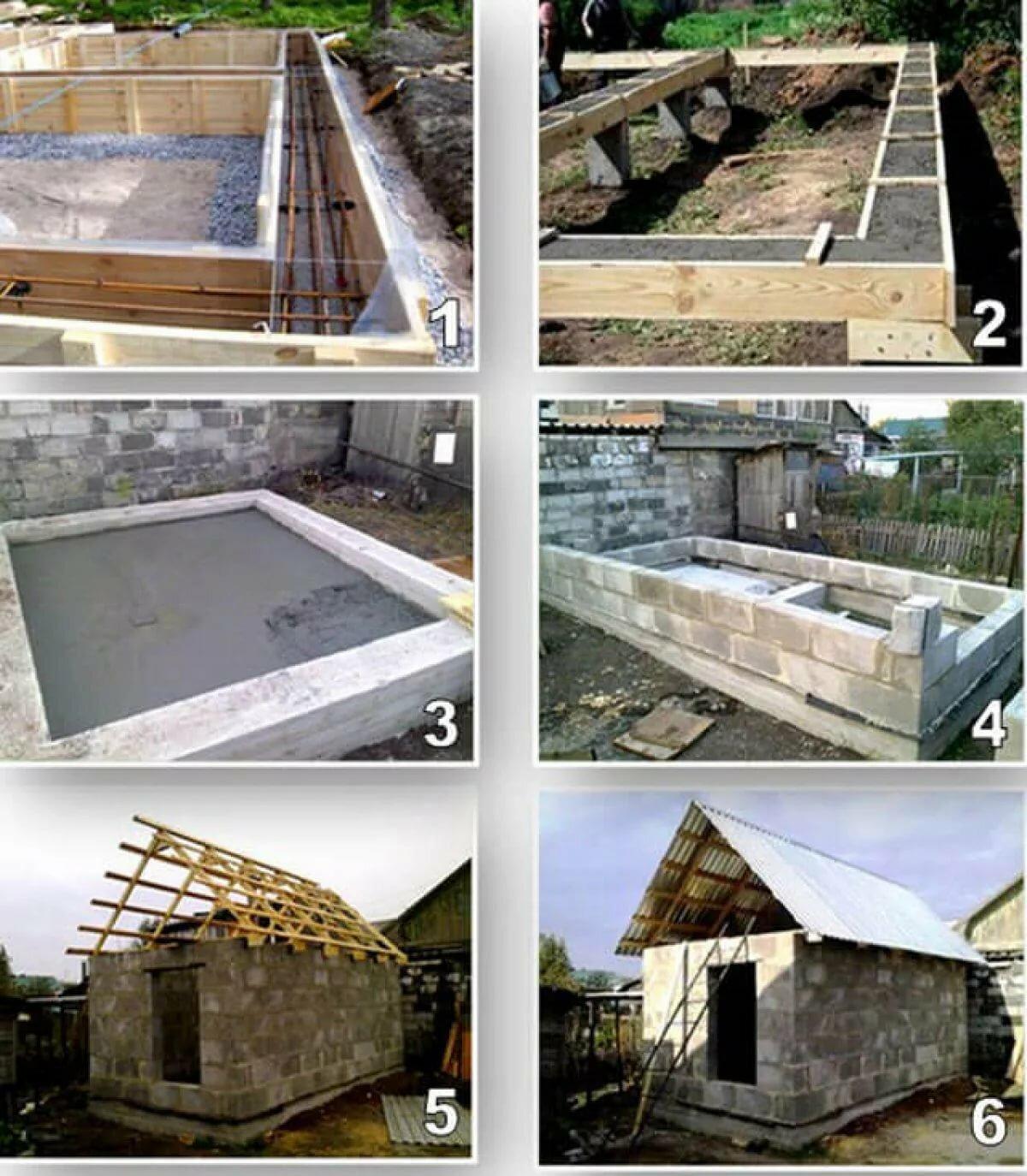 можно ли построить баню из пеноблоков