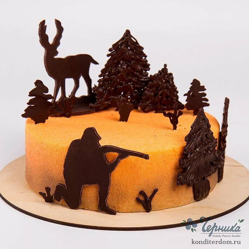 картинка торт охотнику фотохостинг оплатой