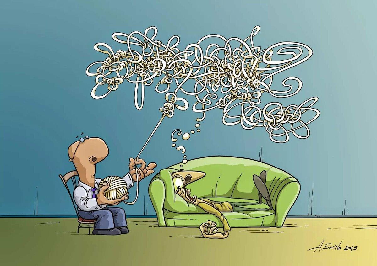 Веселые картинки в психологии