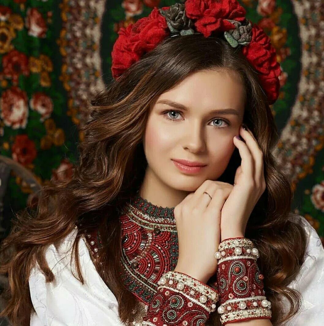 Картинки для фона девушки русские