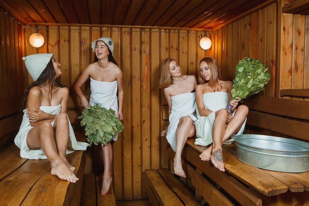 Девушки в бане картинки