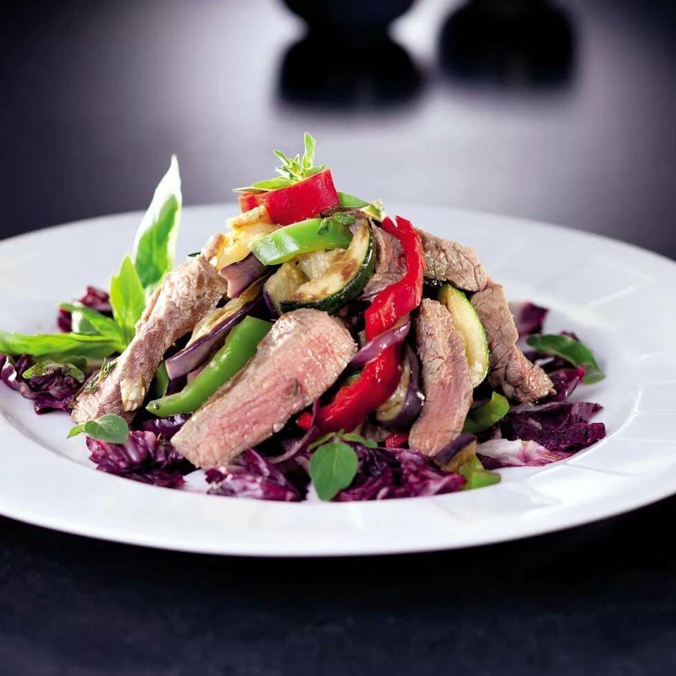 салат из мяса говядины рецепты с фото больших