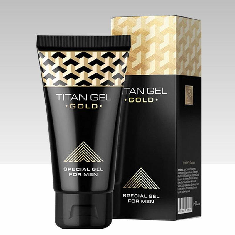 Titan Gel Gold - мужской крем в Константиновске