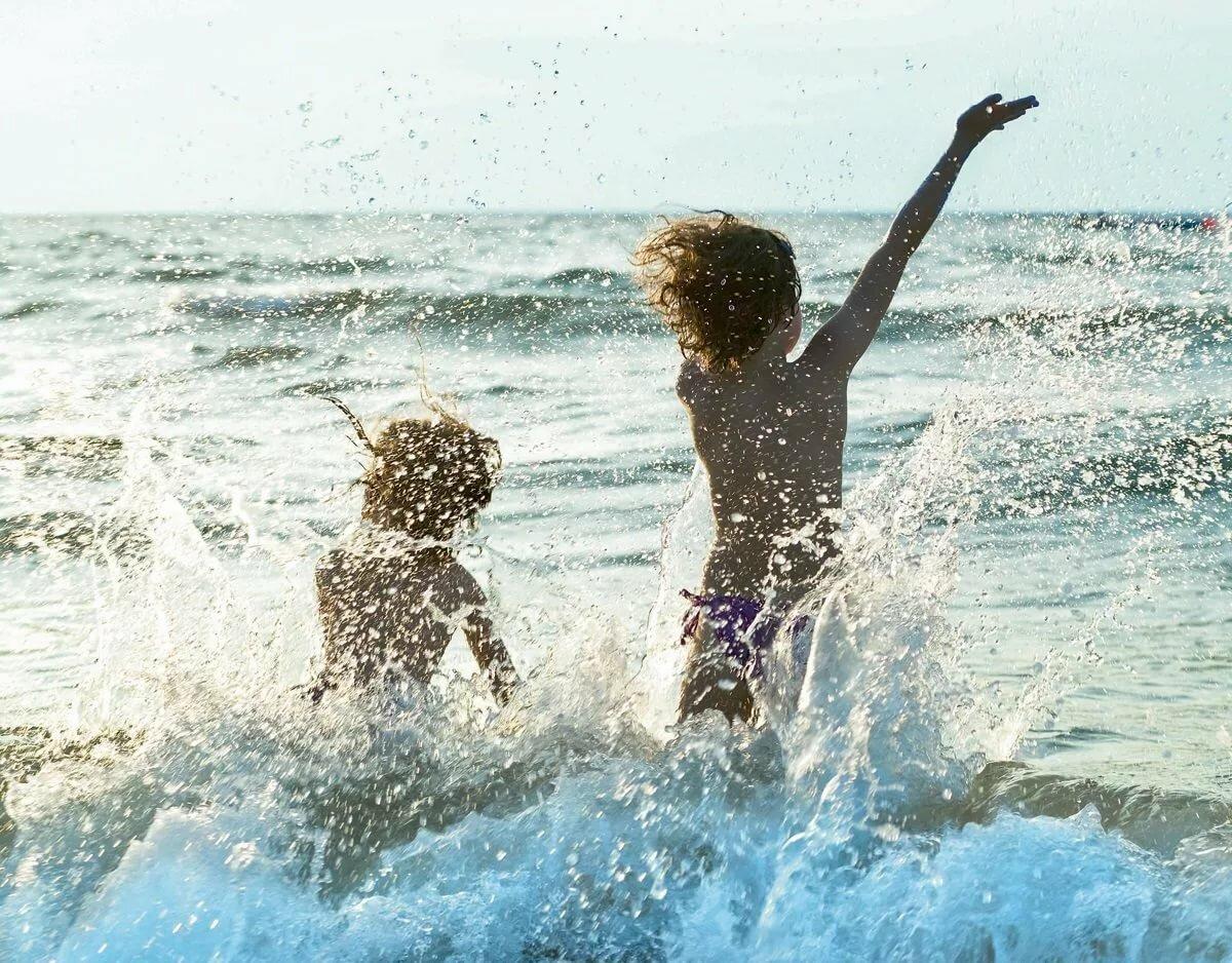 картинка с детьми летом море причины признаки проявления