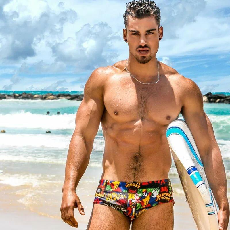 Gay male bottom wear