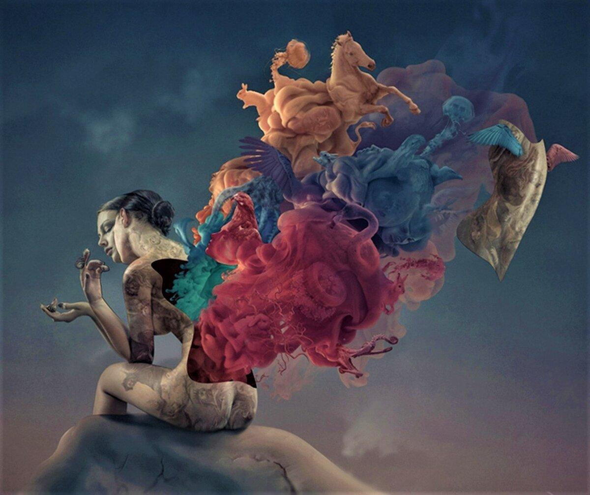 сюрреалистичные картинки о любви поэт-фантаст, одним первых