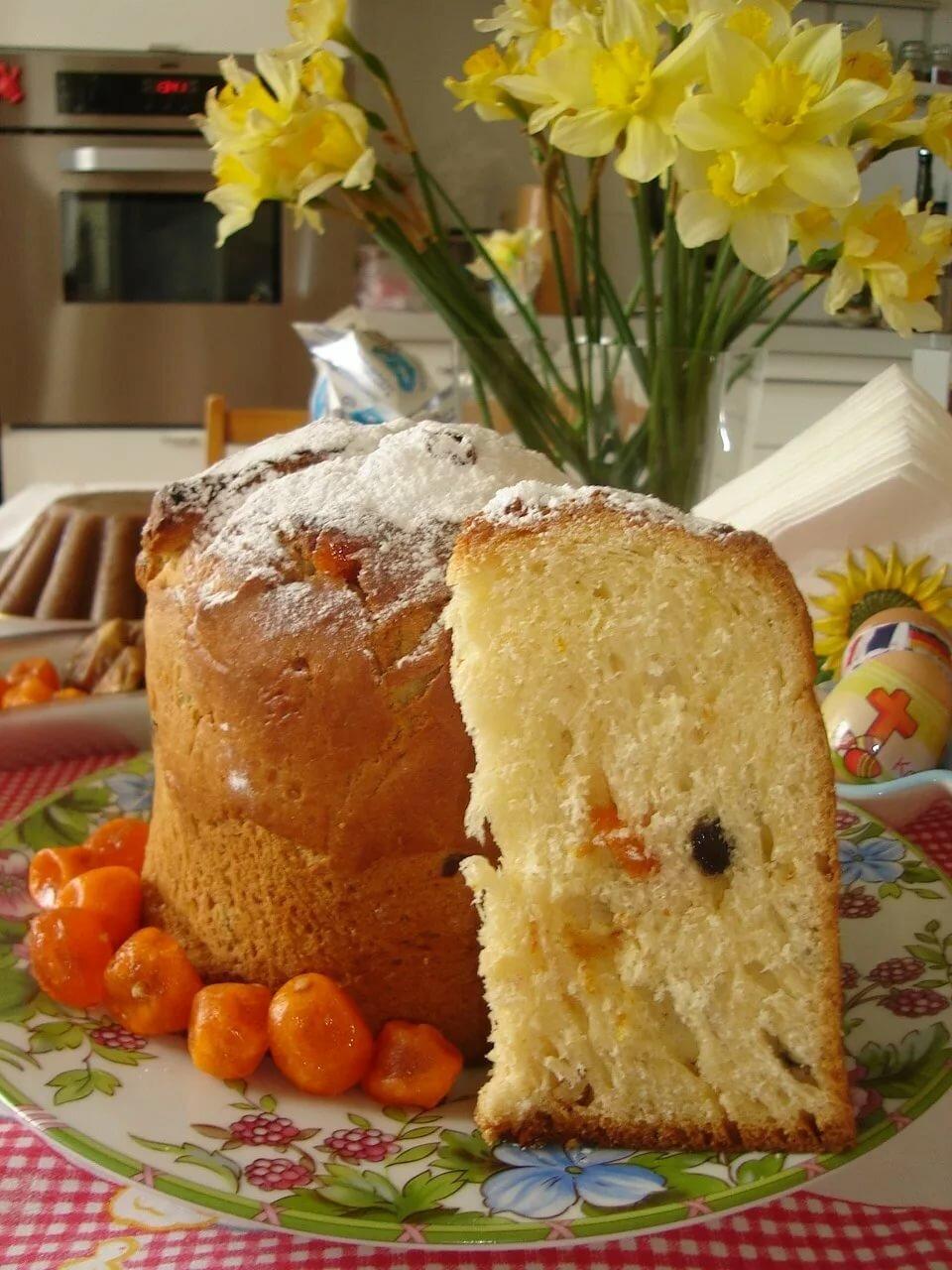 Рецепты куличей оранжевые внутри с фото