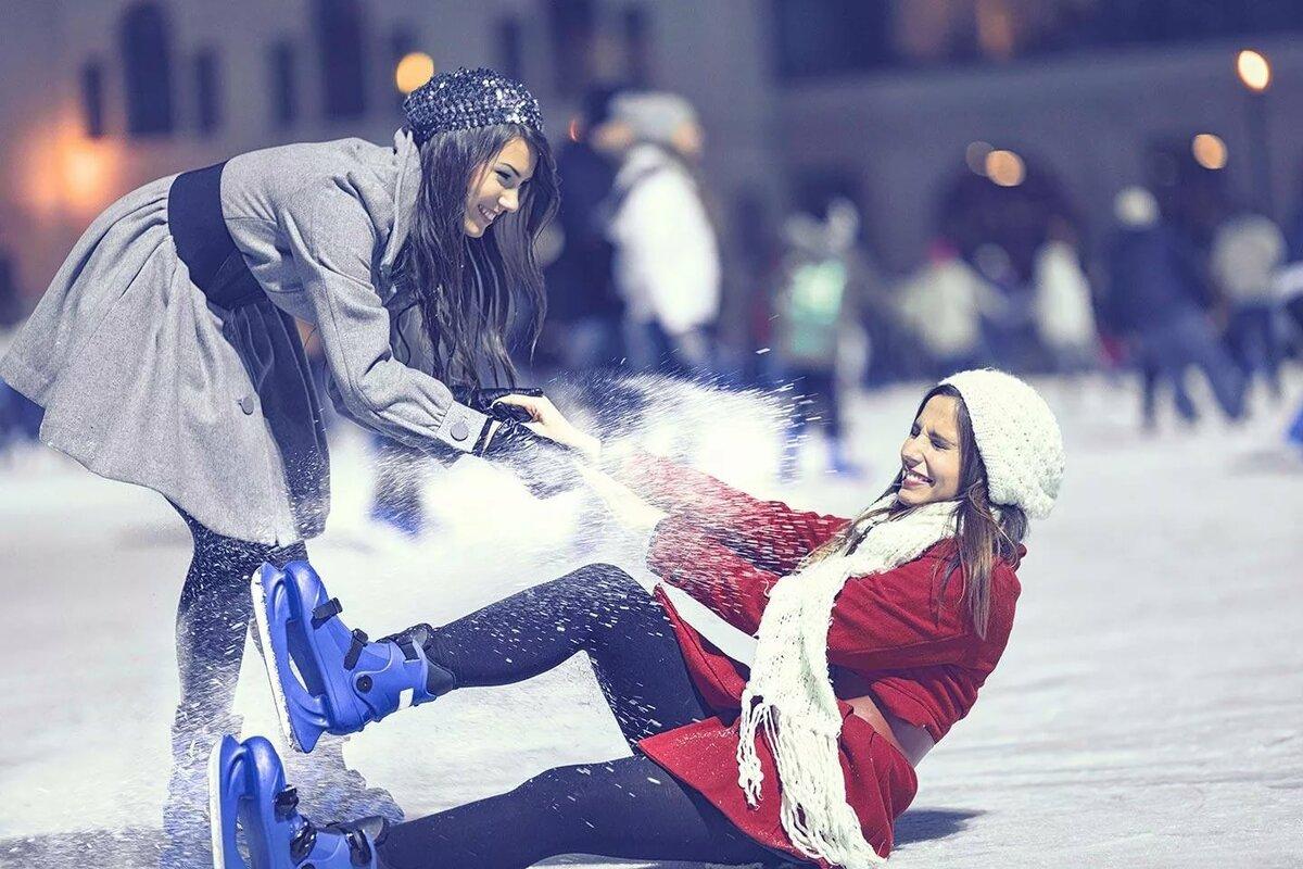 молл постановочное фото на коньках различные