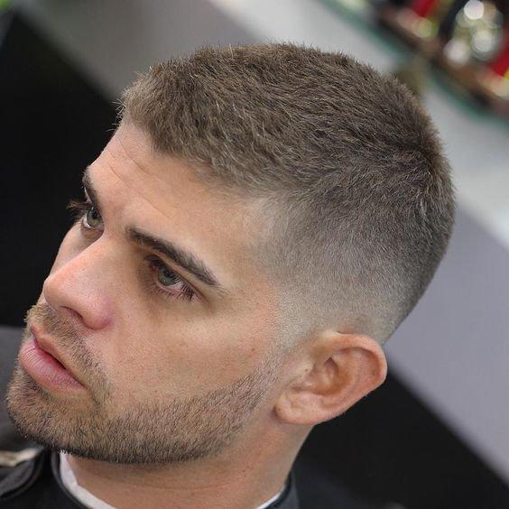 Причёска мужская на короткие волосы