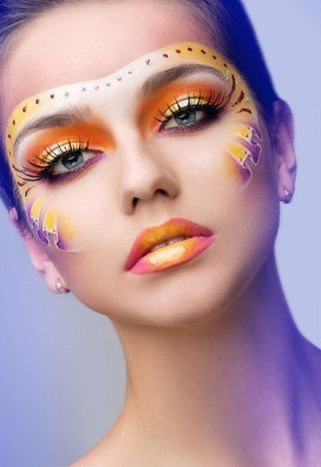 extreme makeup pictures - 600×871