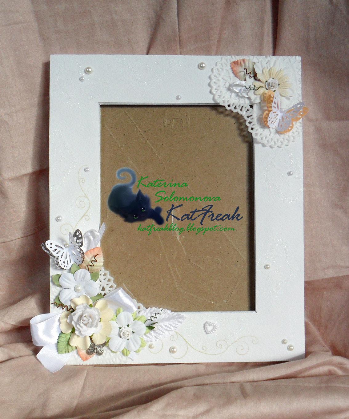 Как сделать рамку для фото из открытки