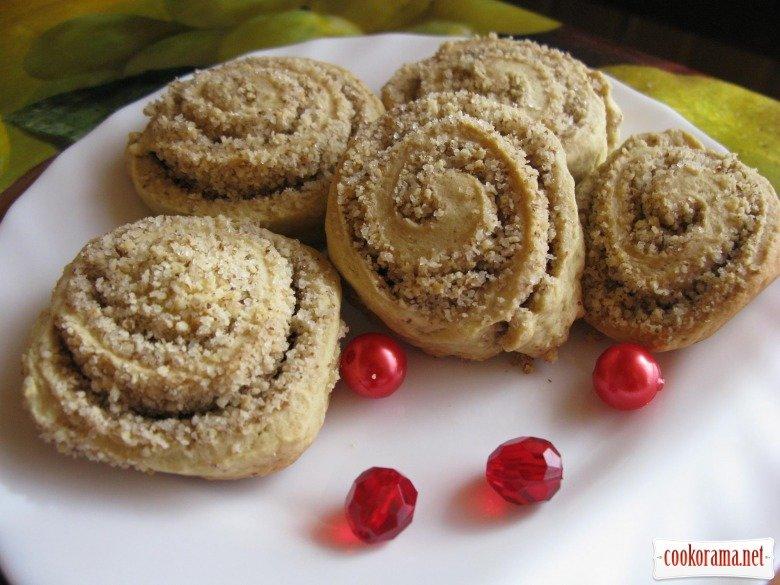 песочное печенье рецепт с фото с орехами