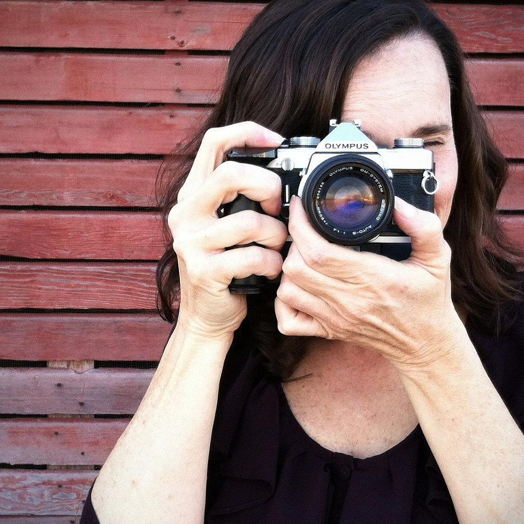 Фотолюбитель съемка портрета