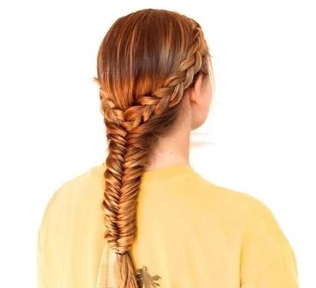 Прически на длинные волосы в домашних условиях фото детские 106
