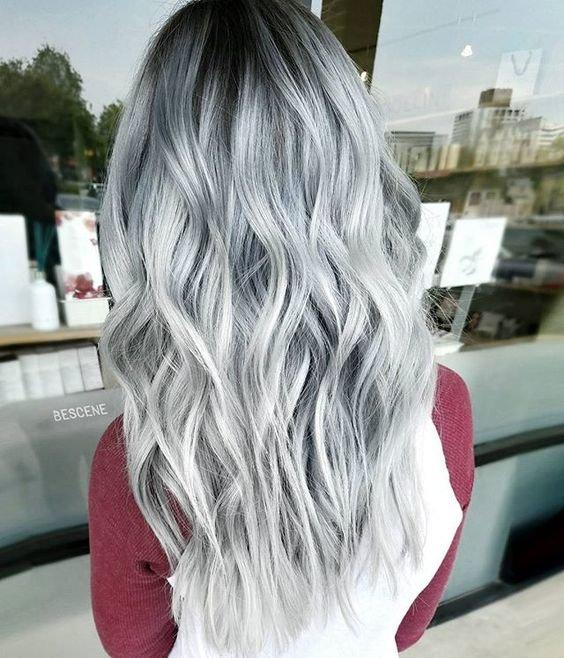 Покрасить волосы в пепельный цвет картинки