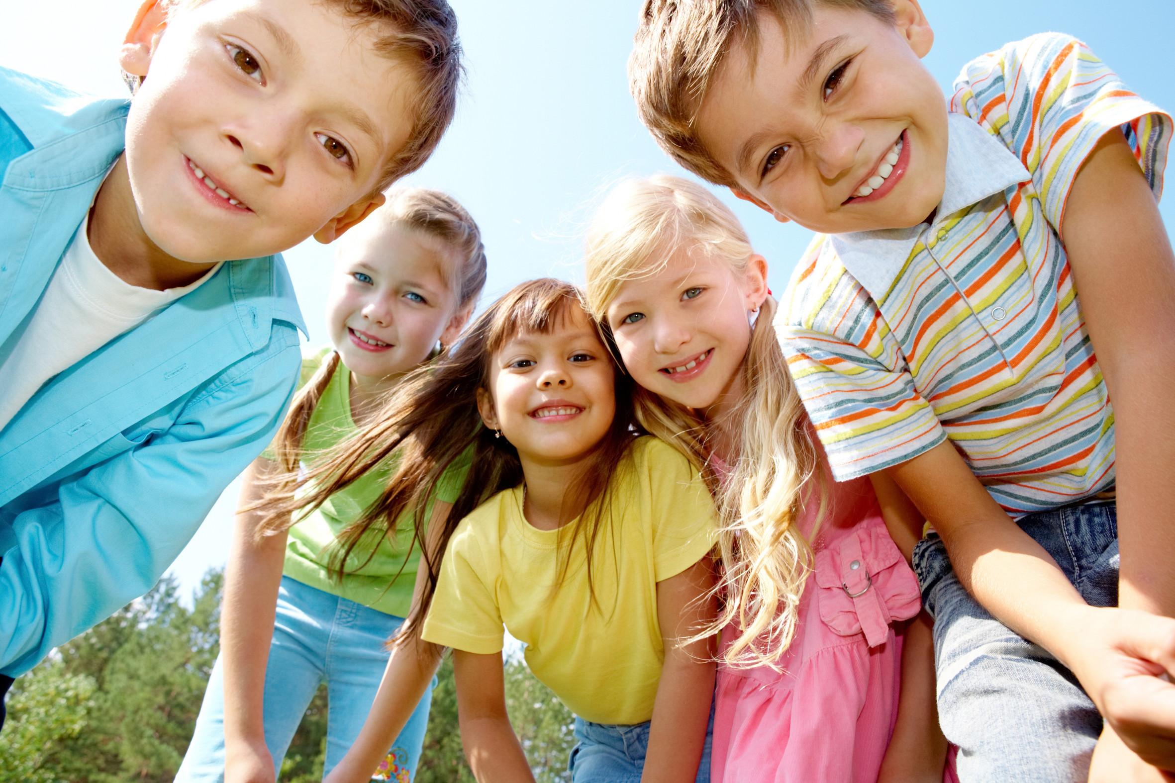 фото улыбающиеся дети
