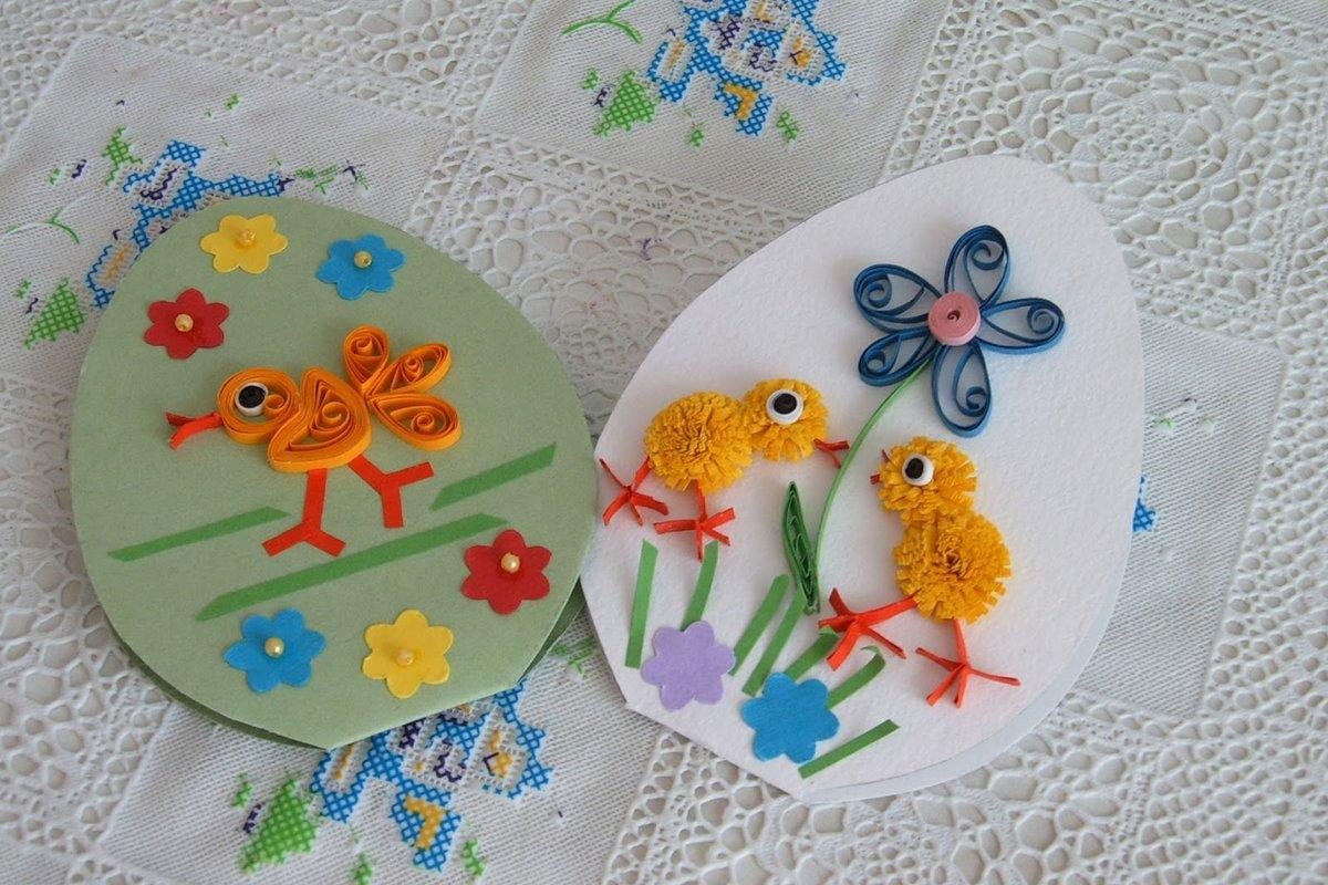 Днем рождения, открытки детское творчество