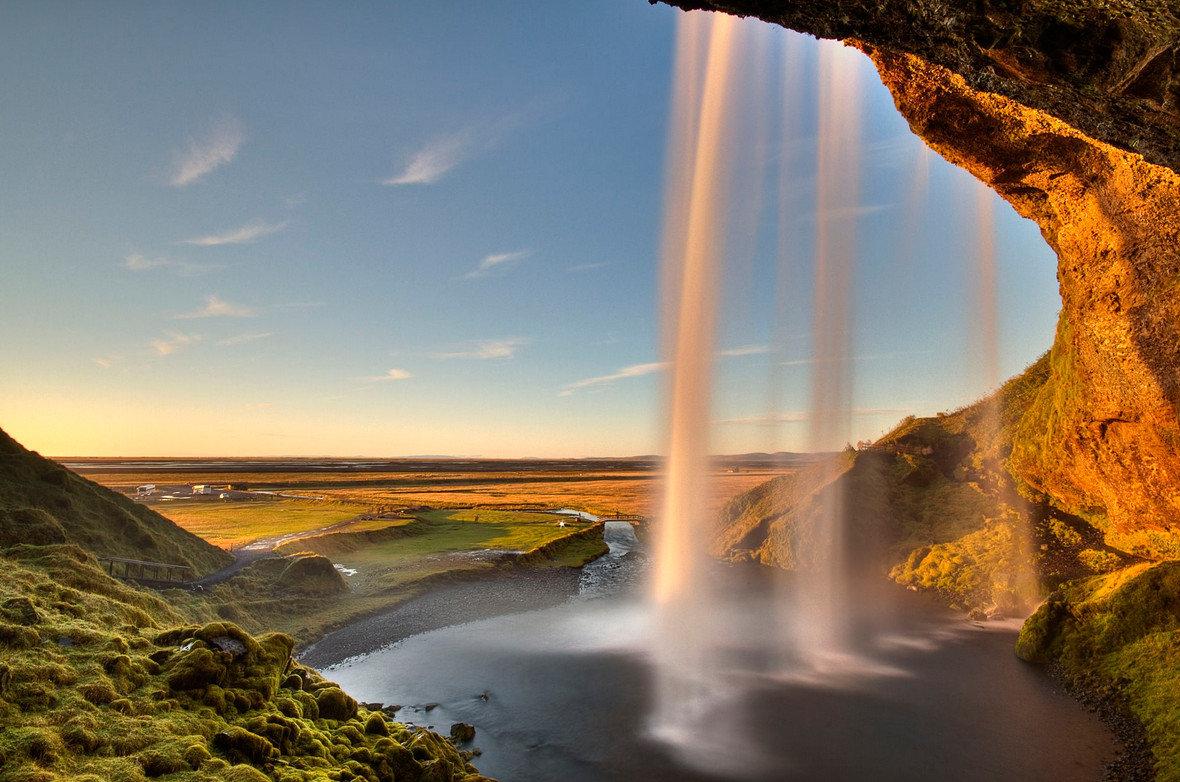 необычные водопады мира фото должна иметь