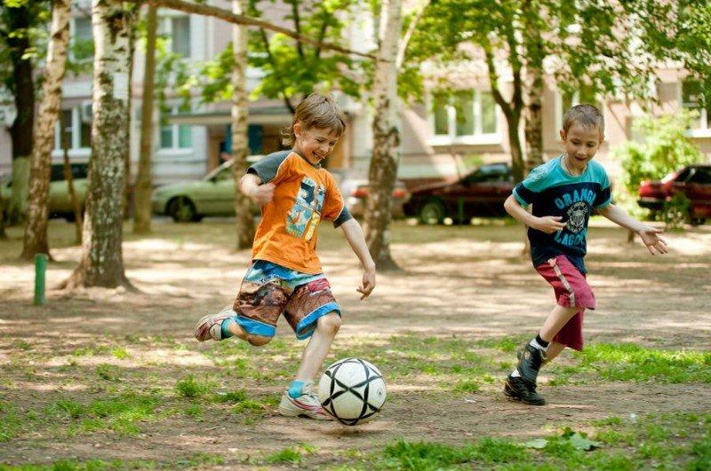 Картинки детских игр на улице летом и осенью