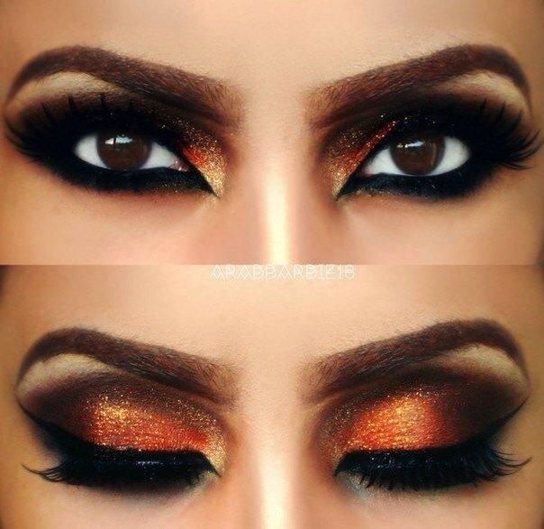 этих фото макияжа для карих глаз на хэллоуин песок или