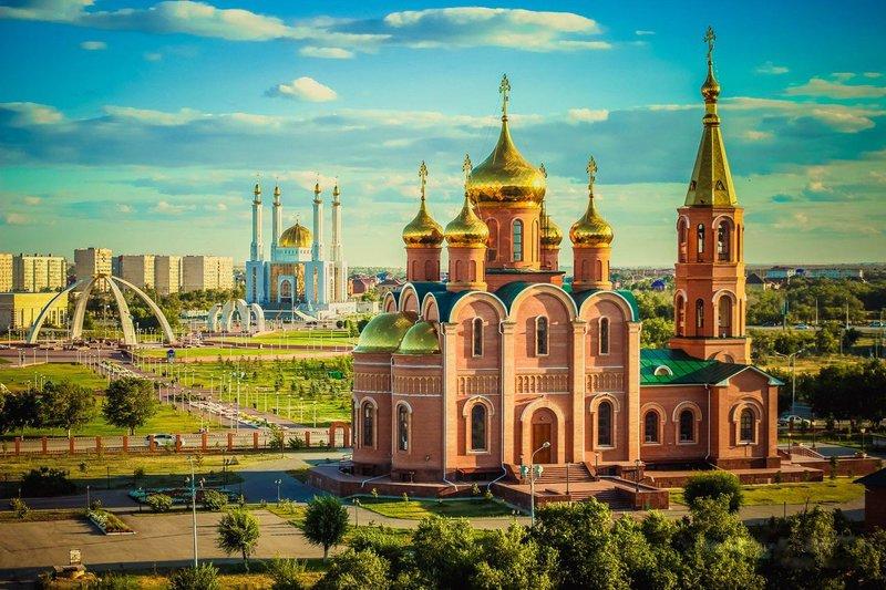 Город был основан отрядом войск Российской империи в 1869 году как укрепление Ак-Тюбе на левом берегу реки Илек, в том месте, где в неё справа впадает Каргалы.