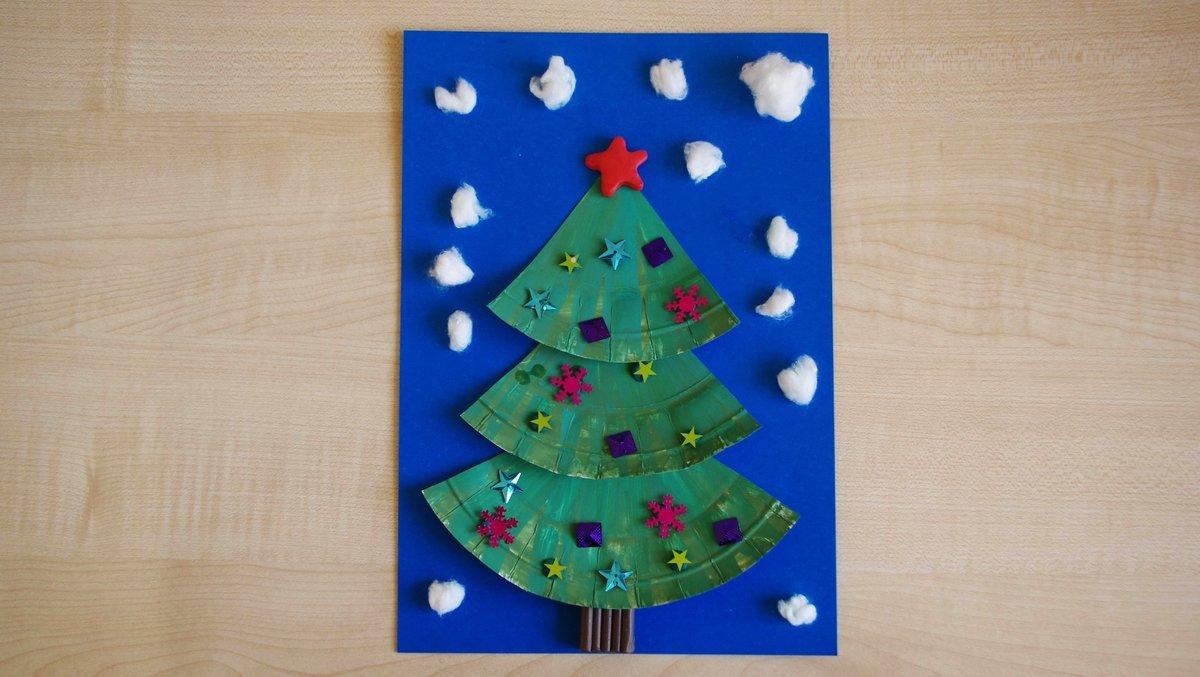Для, рождественская открытка с детьми старшей группы