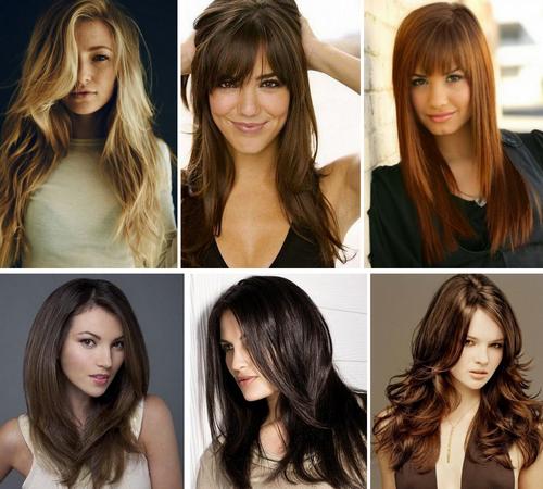 Популярные прически 2017 женские на средние волосы