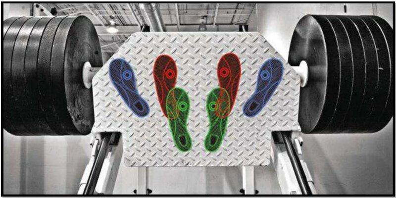 Варианты постановки ног при жиме ногами тренажера платформы
