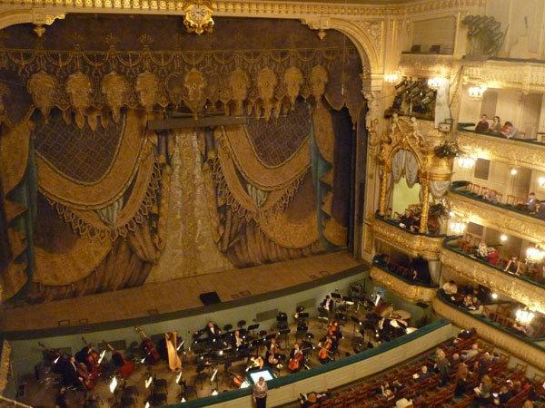 Мариинский театр, сцена