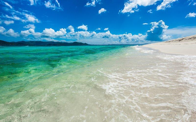 Пляж море фото hd