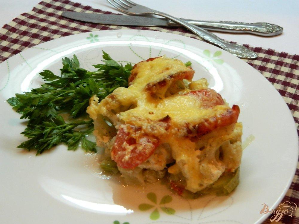 блюда из цветной капусты и кабачков
