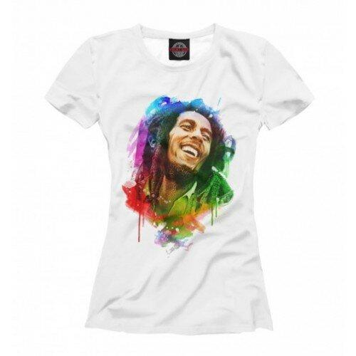 Женская футболка 3D Bob Marley