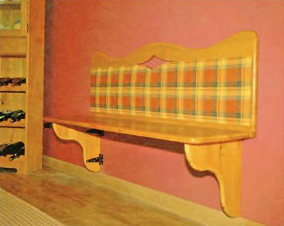 """Скамья на стене"""" - карточка пользователя elena27041976 в Янд."""