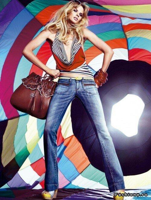 Рекламная кампания Miss Sixty весна-лето 2009
