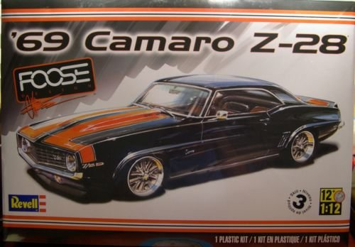 revell large 1 12 scale chip foose designed custom 1969 camaro z 28