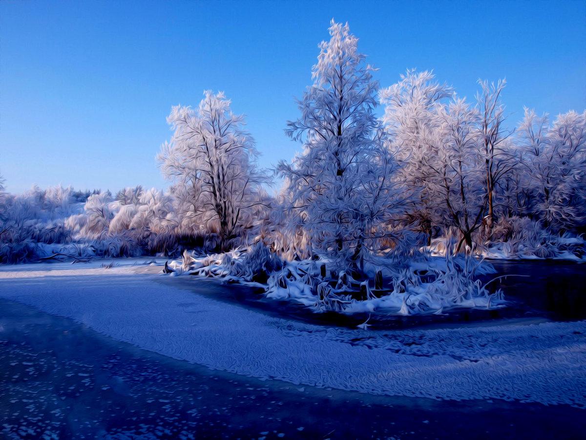 картинки нав рабочий стол зима волшебной пыльцы