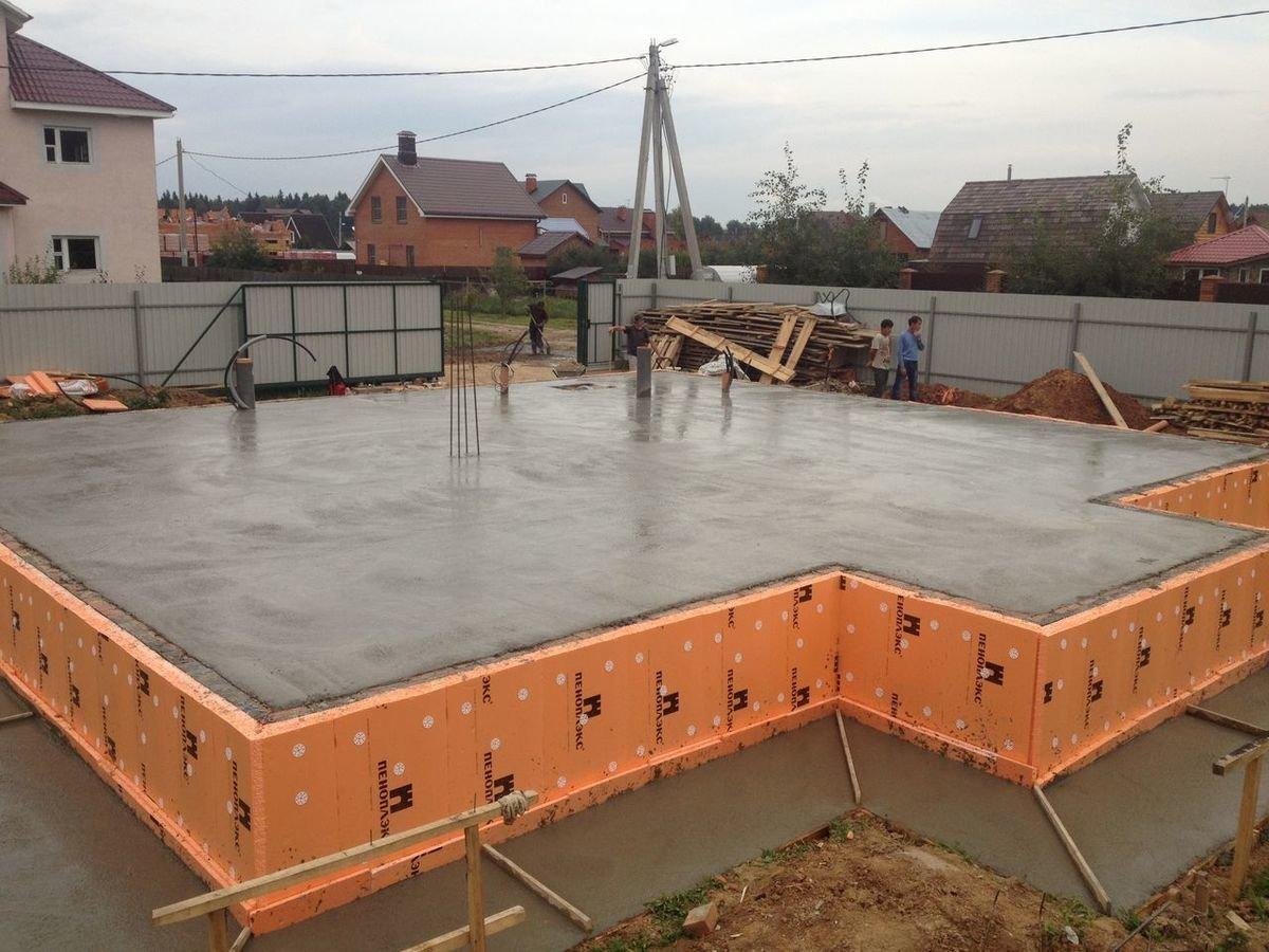 какой бетон нужен для монолитной плиты фундамента