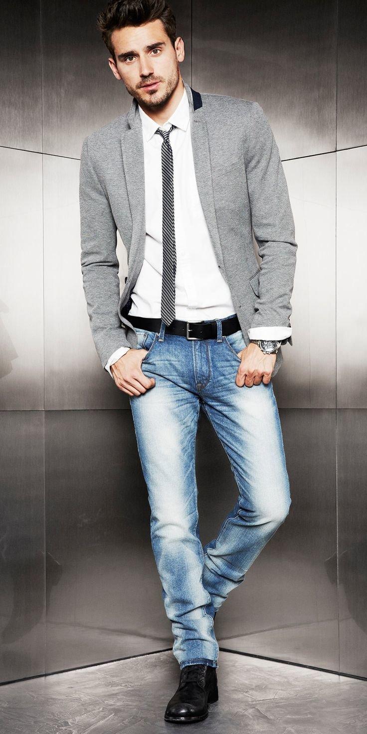 пиджак и джинсы сочетание мужские фото интернет-магазине