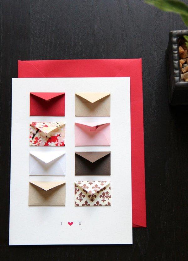 Как сделать открытку для девушки своими