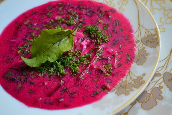 холодник из свеклы пошаговый рецепт с фото кухни стиле кантри