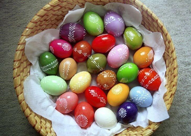 Как сделать сахарные пасхальные яйца 49