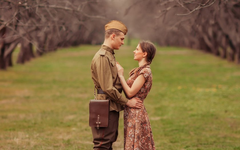 Картинки в любови и на войне