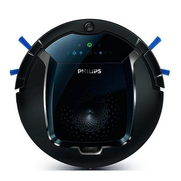Робот-пылесос Philips FC8810 убирает шерсть животных, песок, пыль на гладких поверхностях и на коврах с невысоким ворсом.