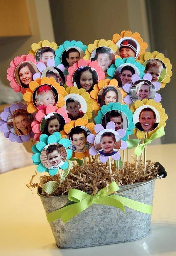 Подарок своими руками днём рождения бабушке - Фотографии внуков