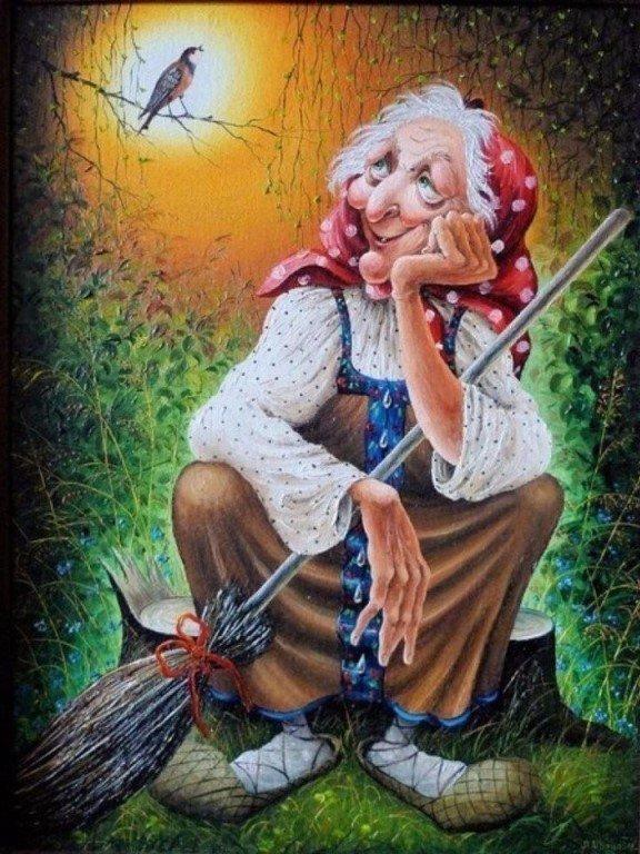 Картинки с бабками ежками